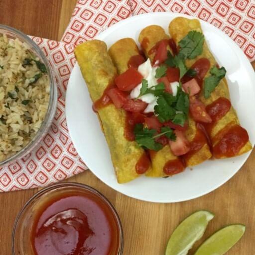 Meatless Monday Recipes: Creamy Black Bean Taquitos
