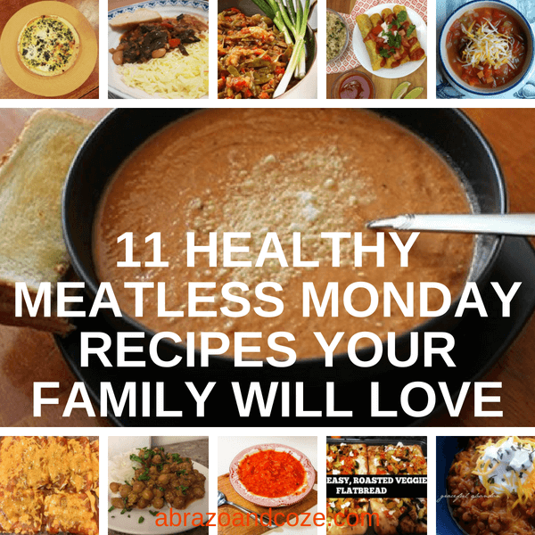 healthy meatless monday recipes