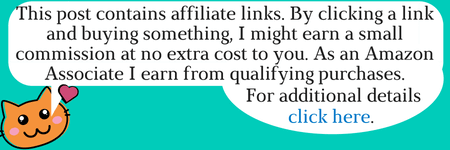 This post contains affiliate links. By clicking a link and buying something, I might earn a small commission at no extra cost to you. As an Amazon Associate I earn from qualifying purchases. For additional details click here.