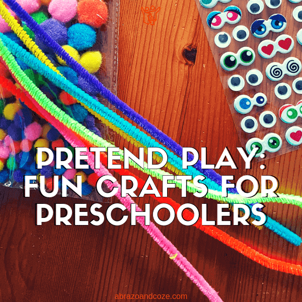 Fun Crafts For Preschoolers Pretend Play
