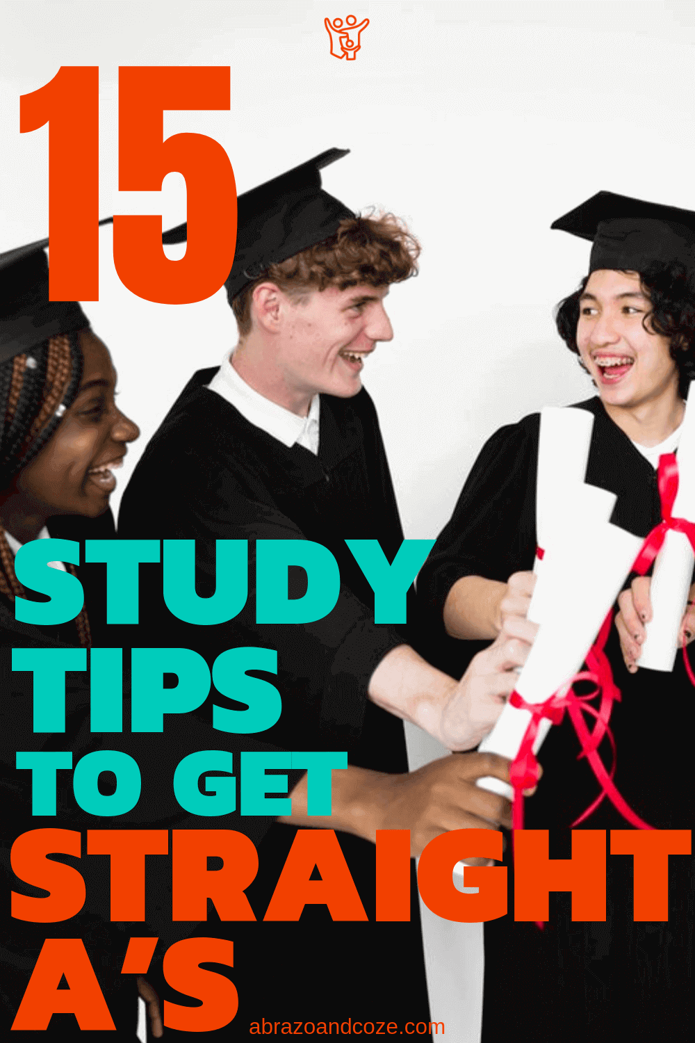 15 Study Tips to get Straight A's. Good study habits started younger result in academic success for a happy graduation in the future.