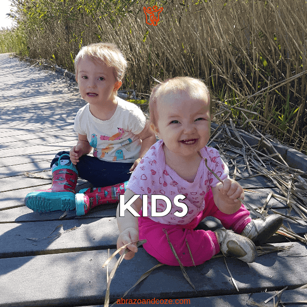 Kids - whether you have two children, as in this photo, or just one, or many, you'll find the information and resources you need in the posts on this page.