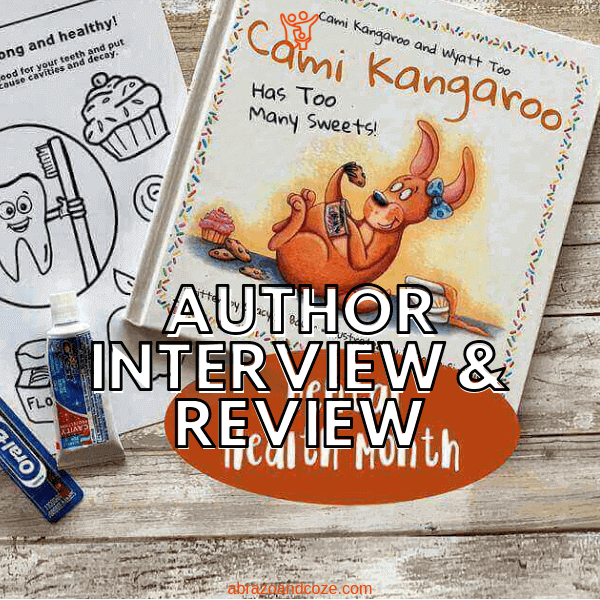 Cami Kangaroo Has Too Many Sweets by Stacy C Bauer is a fun story about a young kangaroo who loves sweets a bit too much...