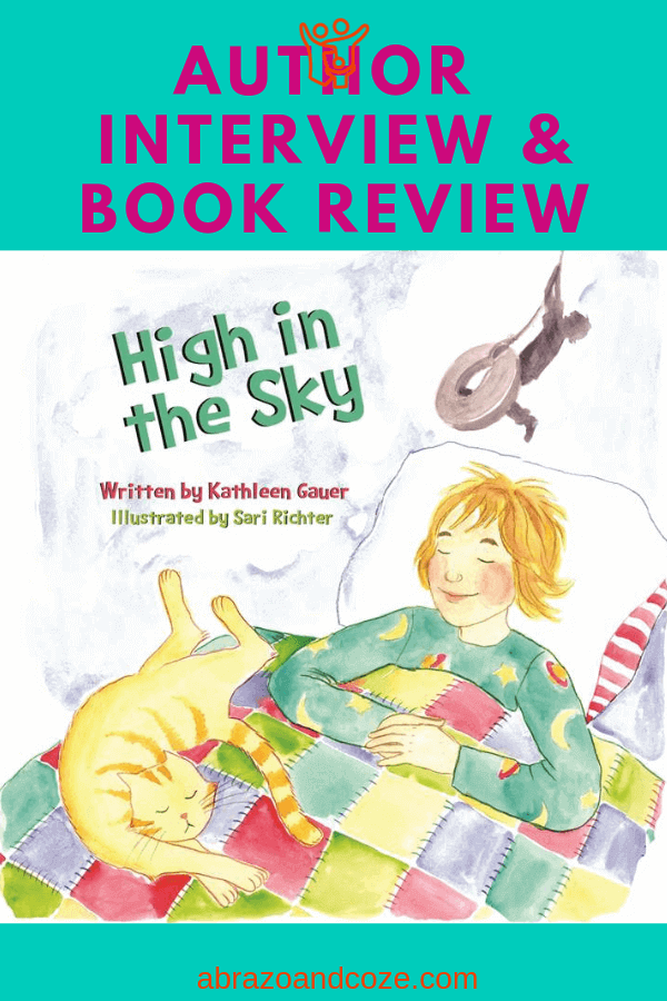 High in the Sky Book Review and Author Interview with Kathleen Gauer.