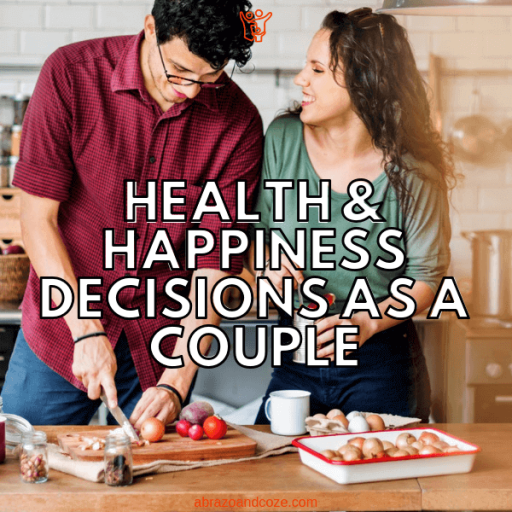 Health and happiness decisions as a couple